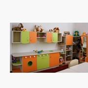 Детская стенка «Мини-кухня»-для дет.садов фото