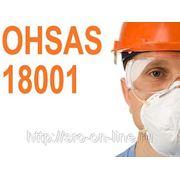 Сертификат OHSAS 18001:2007 Системы менеджмента профессионального здоровья и безопасности фото