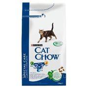 Корм Cat Chow Д/Кошек Feline 3в1 1.5кг. фото