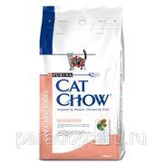 Корм Cat Chow Д/Кошек С Чувств Пищев 1.5кг. фото