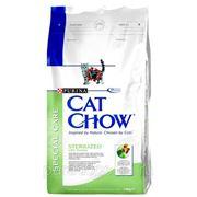 Корм Cat Chow Д/Кошек Стерилизованных 1.5кг. фото