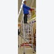 Лестница 10 ступеней с платформой Vario компакт 833358 фото