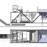Бетонный завод HzsY 60, мобильный фото