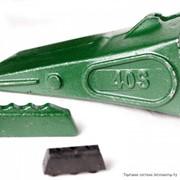 Коронка (зуб, наконечник) ковша, адаптер, фиксатор экскаваторов HITACHI фото
