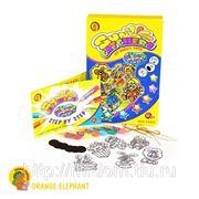 "Набор oe5wps/st/24523 витражные краски ""мои добрые игрушки"", в коробке 21,3*31,3*2,6см тм orange elephant (832633) фото"