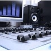 Производство радиоролика. фото