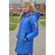 Пальто демисезонное для девочки модель 7309И фото