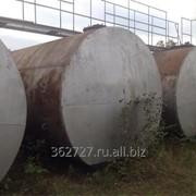 Резервуары б/у, емкости металлические РГС 2, 4, 8, 10, 20, 25, 50, 60, 75, 100 м3 фото