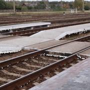 Плиты железнодорожных переездов фото