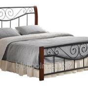 Кровать Ленора 140 х 200 см каштан фото