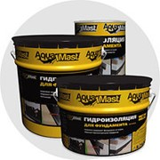 Мастика битумная AquaMast 18 кг фото