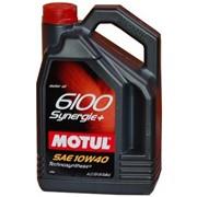 Масло моторное Motul 10W40 (5L) 6100 Synergie+ фото