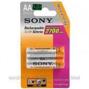 Sony Аккумуляторная батарея Sony HR6-2BL 2700mAh(20/120) фото