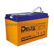 Аккумуляторная батарея Delta DTM-100 AGM фото