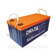 Аккумуляторная батарея Delta GX 200 А/ч гелевая фото