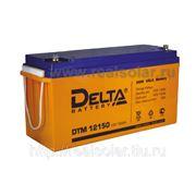 Аккумуляторная батарея Delta DTM-150 AGM фото
