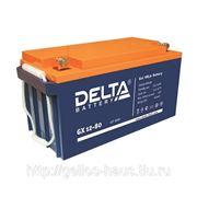 Аккумуляторная батарея Delta GX 12-80 фото