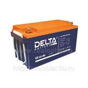 Аккумуляторная батарея Delta GX 80 А/ч гелевая фото