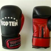 Перчатки боксёрские TOP TEN 1717 фото