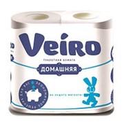 Туалетная бумага Linia Veiro Домашняя Белая 2-сл 4рул (х12) фото
