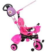 Велосипед трехколесный 3 в 1 Baby Trike Zoo Krolik (розовый кролик) фото
