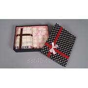 Набор полотенец подарочный 2 шт. (2 шт. 34*74см) 10511 фото