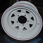 ORW ORW диск стальной 5x139.7 УАЗ 8х15 ET -25, d 110 белый фото