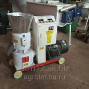 Мини гранулятор плоскоматричный ГПМ-200 фото