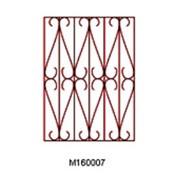 Решетки металлические оконные М160017 фото
