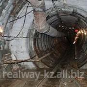 Строительство канализационного коллектора. фото