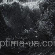 Мех песец черный фото