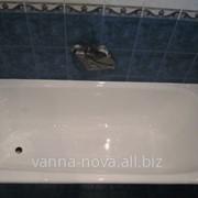 Первичная реставрация ванны фото