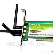 Беспроводной сетевой адаптер TP-Link серии N (шина PCI до 300 Мбит/с) (TL-WN951N) фото