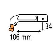Плечо для С-клещей (тип RC2) фото