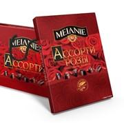 """Набор шоколадных конфет """"MELANIE"""" с начинкой Ассорти Розы фото"""