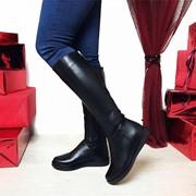 Женские кожаные или замшевые сапоги в моделях. ДС-5-0818 (1760) фото