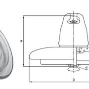 Линейный подвесной изолятор ПФ-70 Д фото