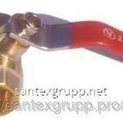 Кран шаровый 3/4 гш ручка (газ, вода) фото