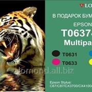 Картридж Ink T06374A Multipack for Epson stylus C67 Lomond T0631 фото