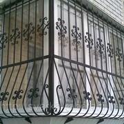 Решетки на балкон кованые металлические эксклюзивные фото