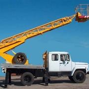 Автоподъемники АР-18 на базе ГАЗ-3309 (Угол поворота стрелы 280 градусов) фото