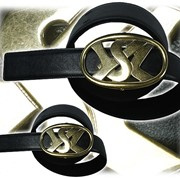 Ремень с логотипом фото