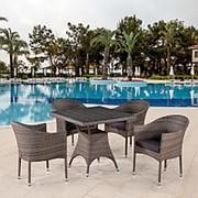 Комплект плетеной мебели T220BG/Y350BG-W1289 Pale 4Pcs фото
