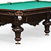 Бильярдный стол для русского бильярда Rococo 10ф (черный орех) фото