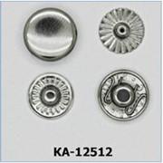 Кнопка Альфа 12,5мм, Код: КА-12512 фото