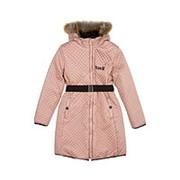 Пальто для девочки двустороннее фото