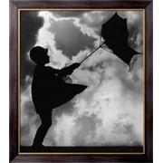 Картина Девочка и зонтик, Неизвестен фото