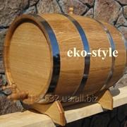 Бочки круглые деревянные фото