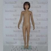 Манекен детский пластиковый 130см, 54-47,5-63,5см, D1/D02/B5 фото
