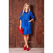 Платье с центральной застёжкой на пуговицах 8007-100 Alve фото